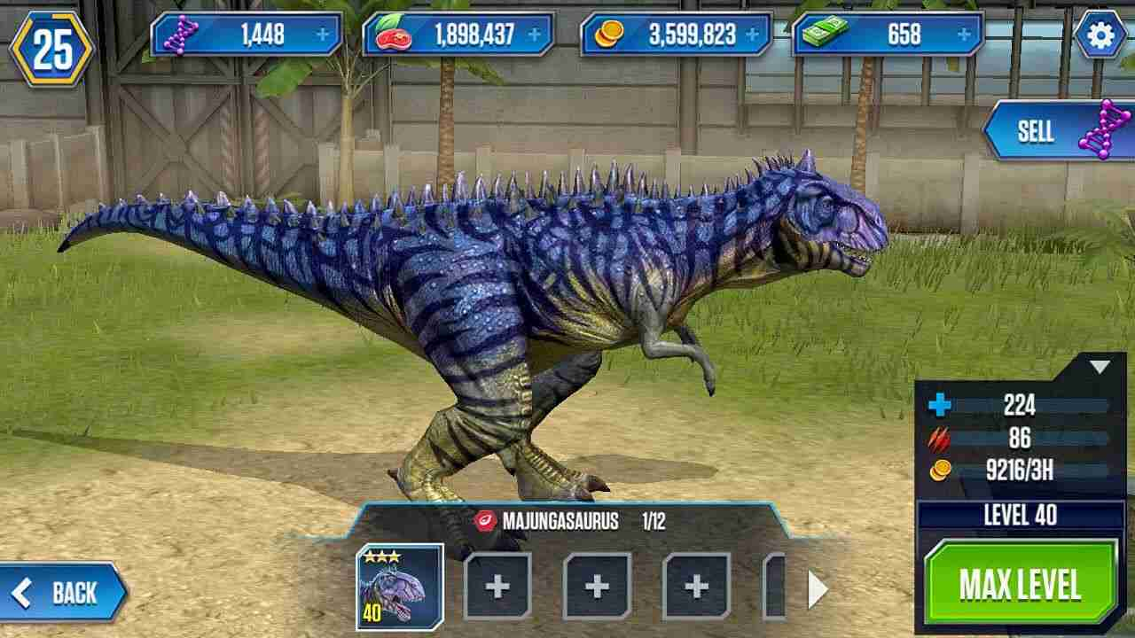 Jurassic World The Game Mod