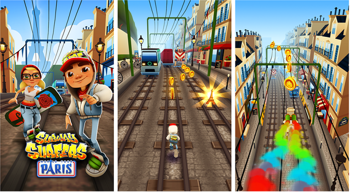 game Subway Surfers mod