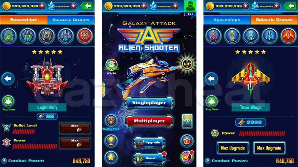 Game Galaxy Attack Alien Shooter Mod