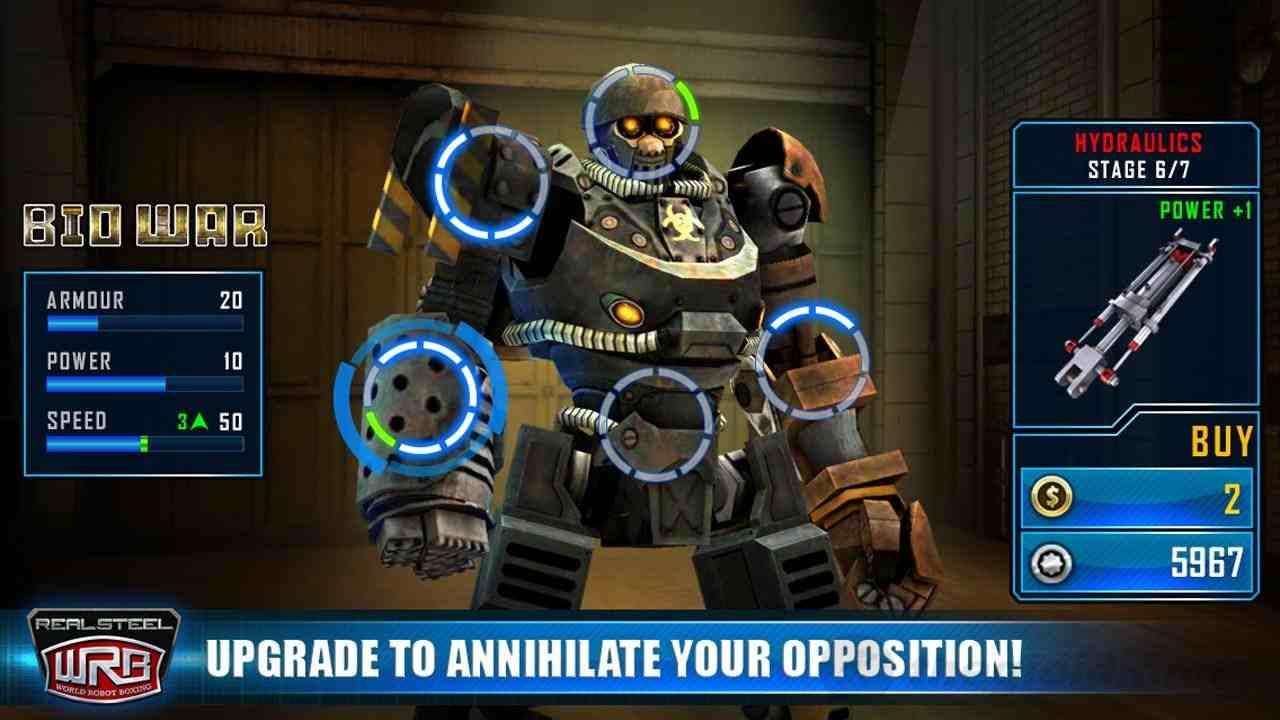 Game Real Steel World Robot Boxing Mod
