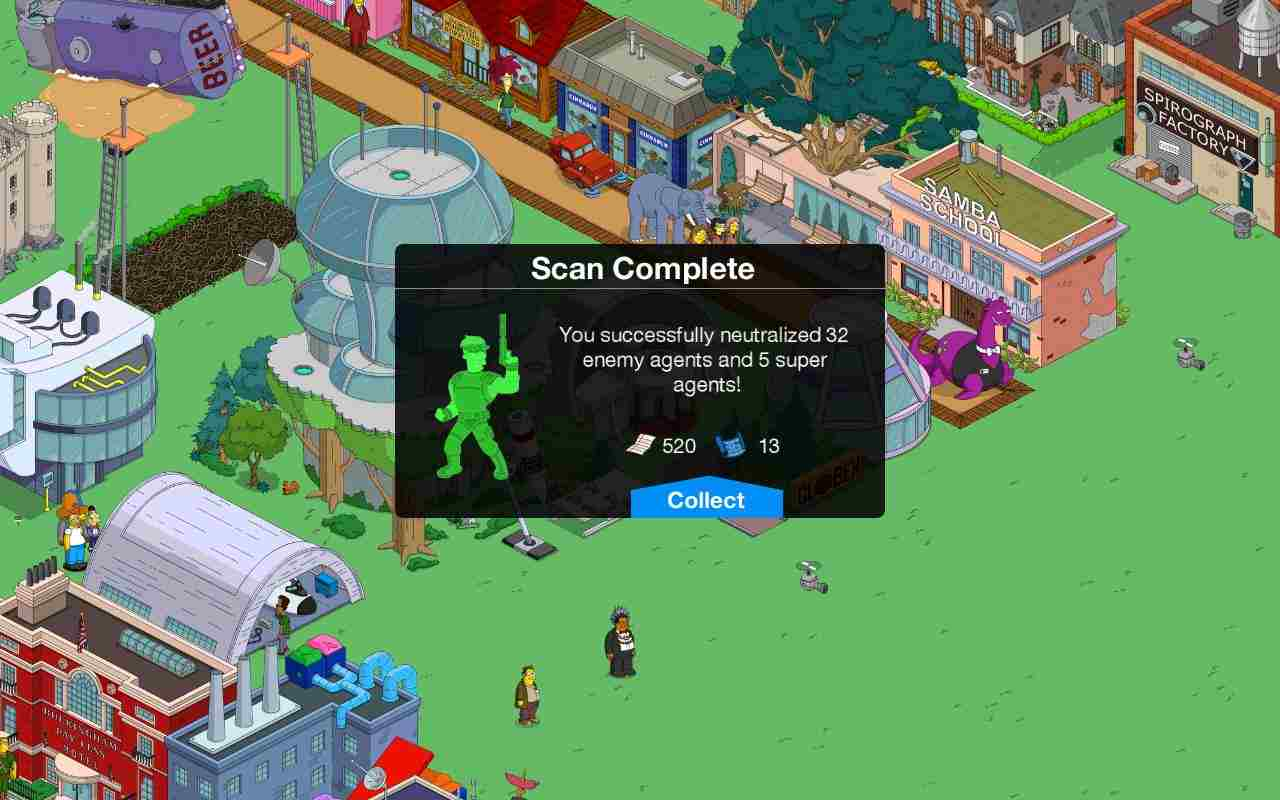 Game The Simpsons Mod