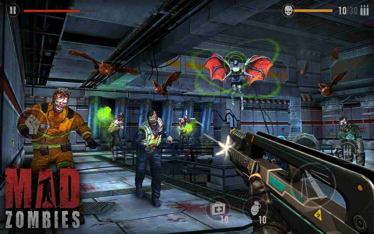 game MAD ZOMBIES mod hack
