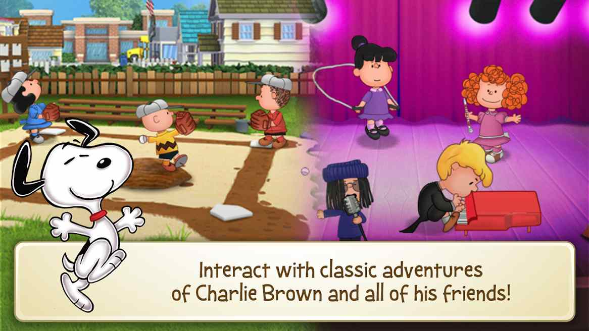 Dowload Snoopy's Town Tale Mod
