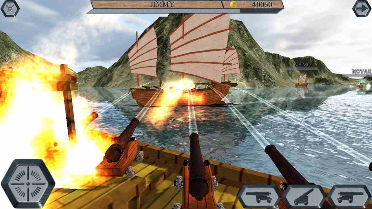 Game World Of Pirate Ships Mod